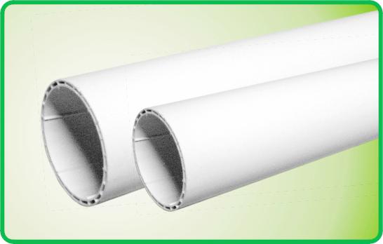 联塑PVC-U中空螺旋消音管